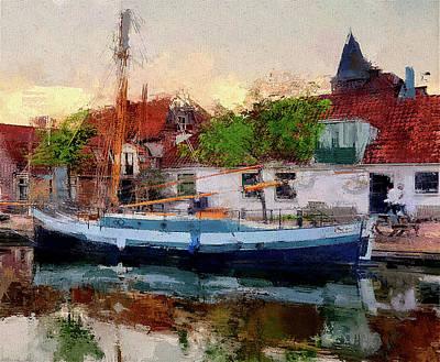 Digital Art - Boat Tours by Yury Malkov