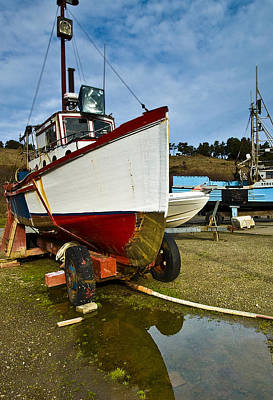 Photograph - Boat Trailer 3 by Dale Stillman