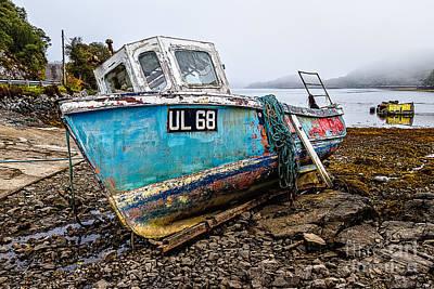 Venice Beach Bungalow - Boat UL 68 by David Ireland LRPS