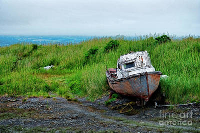 Photograph - Boat With One Eye by David Arment