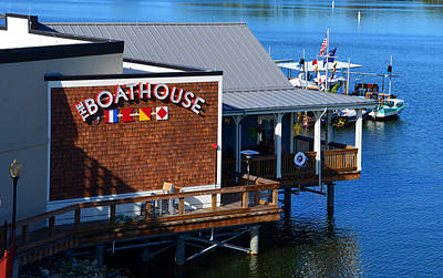 Photograph - Boathouse 12 by David Lee Thompson