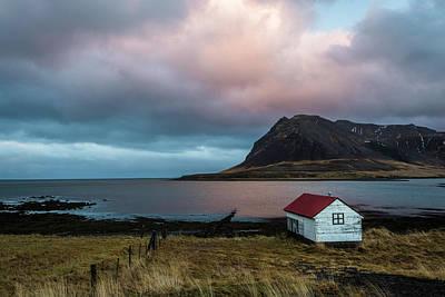 Photograph - Boathouse At Sunrise by Scott Cunningham