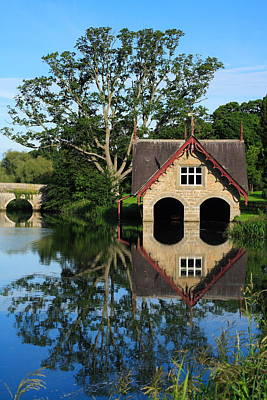 Bridge Photograph - Boathouse by Joe Burns
