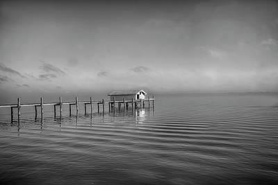 Photograph - Boathouse by Nancie Rowan