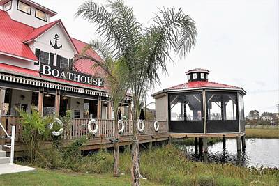 Photograph - Boathouse Restaurant - Bethany Beach Delaware by Kim Bemis