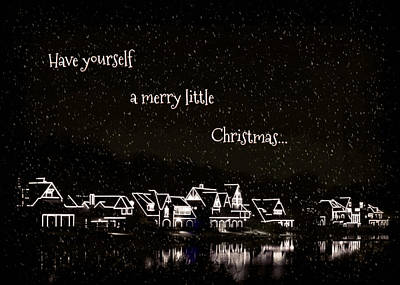 Photograph - Boathouse Row Christmas by Brenda Conrad