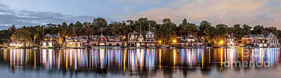 Boathouse Row Lftc Art Print