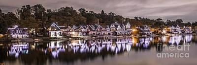 Photograph - Boathouse Row Night by Stacey Granger