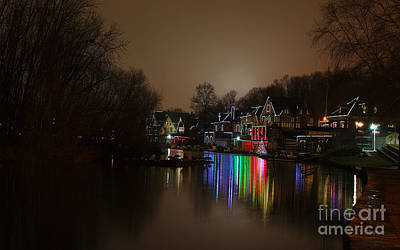 Photograph - Boathouse Row by Traci Law