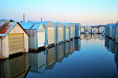 Photograph - Boathouses by Brian O'Kelly
