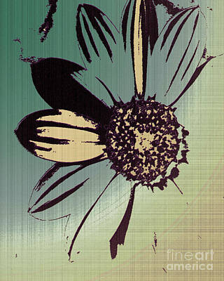 Boating Flower W Art Print