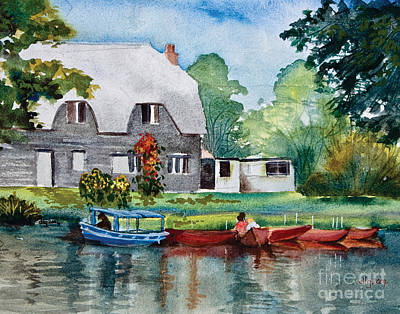 Painting - Boating In Essex Uk by Dianne Green