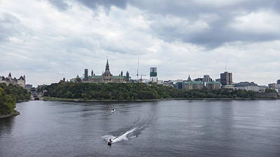 Photograph - Boating In Ottawa by Josef Pittner