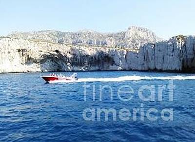 Photograph - Boating In The Greek Isles by Tim Townsend