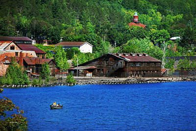 Photograph - Portage Lake Quincy Smelter by Christina Rollo