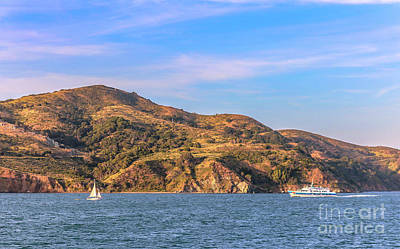 Sausalito Photograph - Boating Near Sausalito by Claudia M Photography