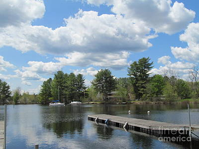 Photograph - Boating On A Clear Day by Loretta Pokorny