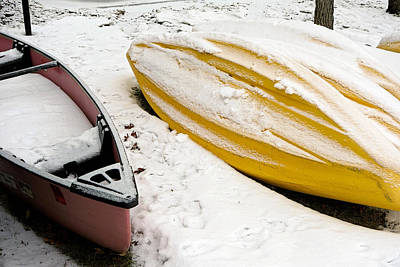 Photograph - Boating On Ice by Robert Meyers-Lussier