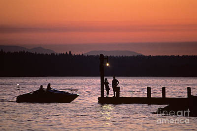 Photograph - Boating With Friends by Jim Corwin