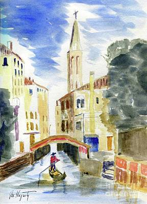 Painting - Boatman by Joe Hagarty