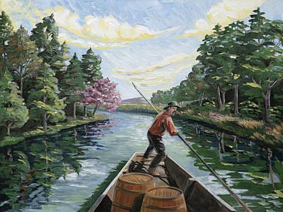 Boatman Original by Paula Blasius McHugh