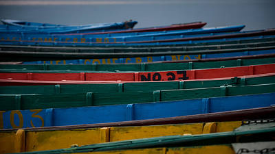 Photograph - Boats by Adrian O Brien