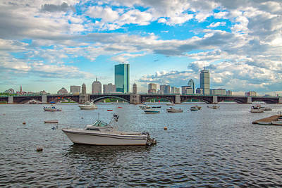 Photograph - Boats And Boston by Brian MacLean