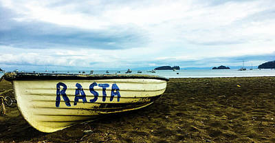 Photograph - Boats And Rastas  by D Justin Johns