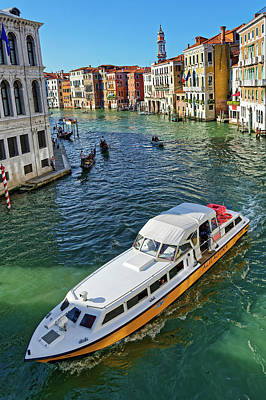 Photograph - Boats And Ships In Venice by Fine Art Photography Prints By Eduardo Accorinti