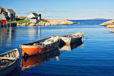 Photograph - Boats And Water by Tatiana Travelways