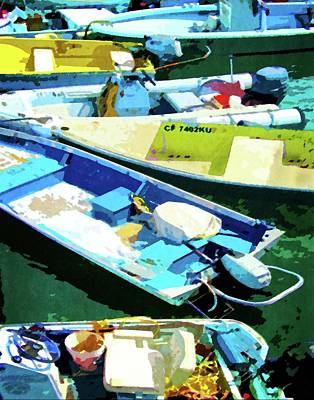 Photograph - Boats At Avalon by Timothy Bulone