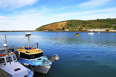 Photograph - Boats At Friendly Bay by Nareeta Martin