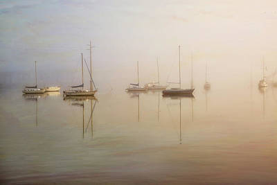 Photograph - Boats At Rest by Nancie Rowan