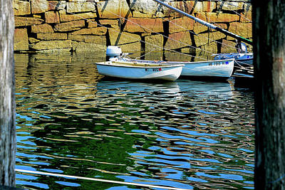 Photograph - Boats At Rockport Marine Park, Maine by Marilyn Burton