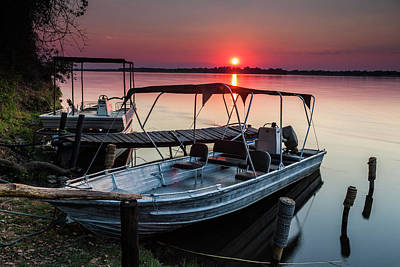 Photograph - Boats At Sunrise by Fran Gallogly