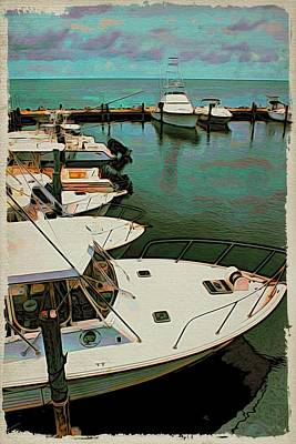 Photograph - Boats At The Ready by Alice Gipson