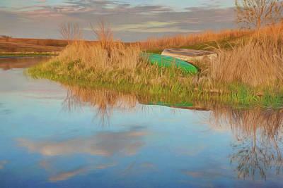 Photograph - Boats - By The Lake by Nikolyn McDonald
