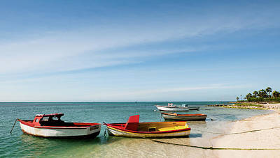 Photograph - Boats By The Sea by Johnny Sandaire