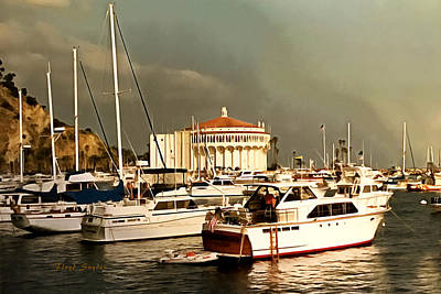 Photograph - Boats Catalina Island California by Floyd Snyder