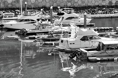 Photograph - Boats Docked In Whittier Marina by Kirsten Giving