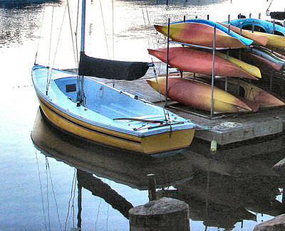 Photograph - Boats For Rent by Dana Patterson