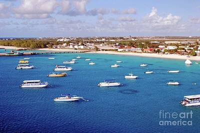 Photograph - Boats  Grand Turk by Gary Wonning