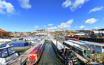 Photograph - Boats In Bristol Harbour by Colin Rayner