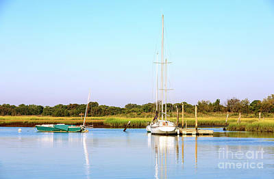 Photograph - Boats In Cape May by John Rizzuto