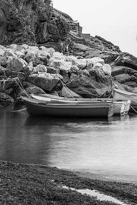 Photograph - Boats In Cinque Terre Italy  by John McGraw