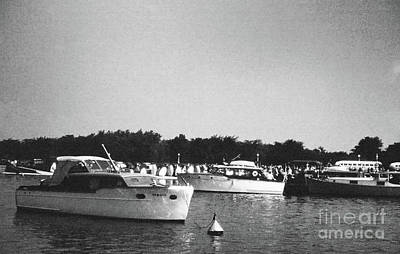 Photograph - Boats In Harbor - 001 by Larry Ward