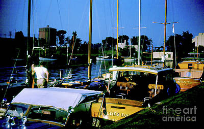 Photograph - Boats In Harbor - 003 by Larry Ward
