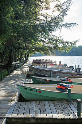 Photograph - Boats In Line 1 by Kevin McCarthy