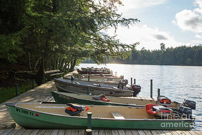 Photograph - Boats In Line 2 by Kevin McCarthy