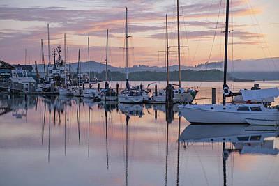 Photograph - Boats In Pastel by Suzy Piatt